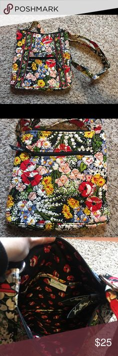 Vera Bradley Crossbody Cute crossbody bag,  never used ! A perfect little weekend bag to throw your stuff in and go. No rips, tears, or stains. Vera Bradley Bags Crossbody Bags