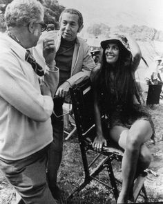 On the set of The Planet of the Apes 1968