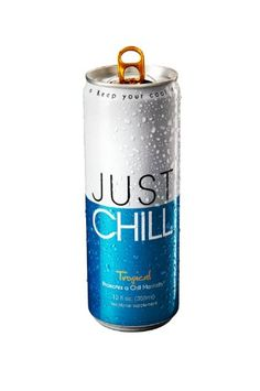 Just Chill Tropical,  12 Ounce (Pack of 12) >>> Read more reviews of the product by visiting the link on the image.