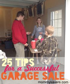 25 Tips for a Successful Garage Sale