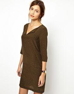 Essentiel Antwerp Ariechino Silk Day Dress