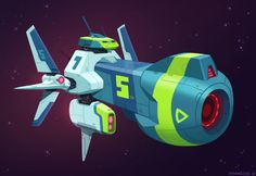 Matias Hannecke - spaceship concepts from this week