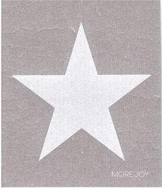 Tähti valkoinen tiskirätti 3,50€ Hollywood Walk Of Fame, Joy, Stars, Glee, Sterne, Being Happy, Star, Happiness
