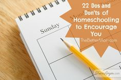 Dos and Don'ts of Homeschooling to Encourage You — the Better Mom