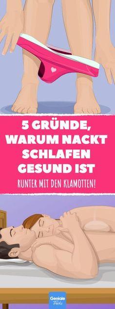 5 Gründe, warum nackt schlafen gesund ist #gesundheit #nackt #schlafen #gesund #ratgeber