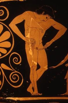 Image result for Nikosthenes Painter (fl. c. 550 - 510 BCE); Pamphaios Potter (fl. end of 6th century BCE), Antikensammlung, Berlin 1964.4 (515-500 BCE). Red-figure kylix.