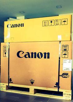 Uma Plotter para satisfazer as necessidades e exigências de um novo cliente. Em breve, teremos um arquitecto satisfeito! #digibarcel #barcelos #canon Tech Companies, Canon, Company Logo, Logos, Architects, Cannon, Logo