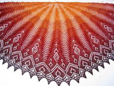 wallke's Firebird - I think I found what I'm going to do with the Freia Ombre Lace I have.