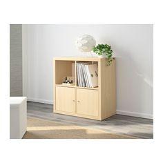 KALLAX Shelf unit, birch effect birch effect 30 3/8x30 3/8