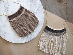 handwoven necklaces   kari breitigam   Flickr
