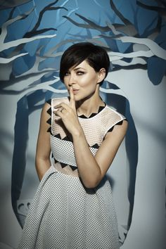 Back for another round: Emma Willis will return to our screens on January 7 to front a new series of popular Channel 5 reality show Celebrity Big Brother Love Hair, Great Hair, Pixie Styles, Curly Hair Styles, Emma Willis Hair, Pixie Hairstyles, Cool Hairstyles, Bob Hair Color, Celebrity Big Brother