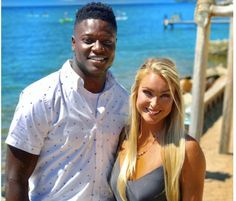 """Brianna Stade; a Cheerleader for the Atlanta Falcons and the girlfriend of NFL player Chris Conley, the 6'3"""" wide receiver for the Kansas City Chiefs."""