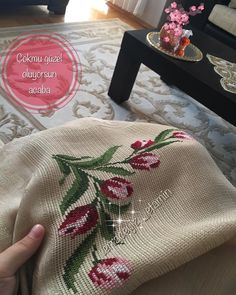 Diy And Crafts, Burlap, Cross Stitch, Reusable Tote Bags, Pattern, Instagram, Towels, Needlepoint, Punto De Cruz