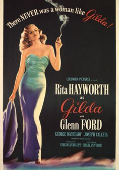 "The 1946 American black-and-white film, Gilda, stars Glenn Ford and Rita Hayworth. In 2013 it was selected for preservation in the United States National Film Registry by the Library of Congress as being ""culturally, historically, or aesthetically significant""."