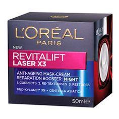 Buy L'Oreal Paris Revitalift Laser X3 Night Cream, $44.99