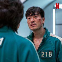 "Netflix original series ""Squid Game"" Still Cuts Gong Yoo, Dramas, Squad Game, Comedy Specials, Games W, Netflix Series, Tv Series, Hot Boys, Korean Actors"