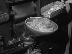 """Minting Coins at the Philadelphia Mint: """"How They Make Money"""" circa 1940 https://www.youtube.com/watch?v=mBjD9N1APsw #PhiladelphiaMint #Coinage"""