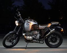 """RL      ER Motorcycles owned by Blaz Sustarsic of Slovenia has rolled out another impressive conversion of a 1989 BMW R100GS Paris Dakar which he named Glober"""", commissioned by a photographer for long distance tours. Designed with adventure, earthiness and"""