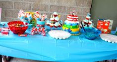 Dr. Suess Bday Party
