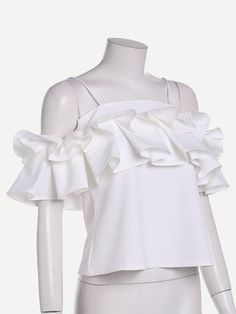 joefsf Cute Blouses, Blouses For Women, Hot Outfits, Casual Outfits, Fashion 2017, Womens Fashion, Kids Frocks, Blouse And Skirt, Beautiful Blouses