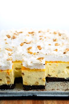 Food Cakes, Feta, Ale, Cake Recipes, Sweet Treats, Cheesecake, Deserts, Food And Drink, Sweets