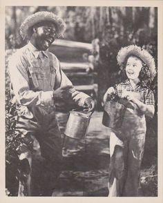 1938 Shirley Temple & Bill Robinson In Rebecca Of Sunnybrook Farm