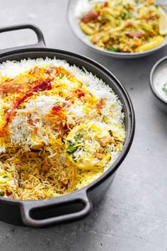 This Sindhi vegetable biryani is a popular and traditional dish, with layers of spiced vegetables and chickpeas and basmati rice. It's said that biryani is the food of the gods, and it's easy to understand why when you eat this delicious recipe! Vegan Indian Recipes, Vegetarian Recipes, Cooking Recipes, Healthy Recipes, Vegan Vegetarian, Arabic Recipes, Rice Recipes, Cheap Recipes, Fast Recipes
