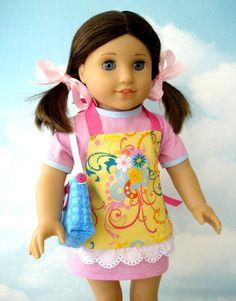 American Girl Doll Dress Patterns Free   18 inch American Girl Doll Clothes Sewing Patterns