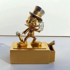 RARE OLSZEWSKI JIMINY CRICKET JEWEL BOX ~ LE NUMBERED ~ GOLD SILVER & PEWTER #DisneyShowcase #JiminyCricket #Pinocchio