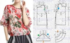Amazing Sewing Patterns Clone Your Clothes Ideas. Enchanting Sewing Patterns Clone Your Clothes Ideas. Blouse Patterns, Clothing Patterns, Blouse Designs, Handmade Clothes, Diy Clothes, Sewing Blouses, Make Your Own Clothes, Easy Sewing Patterns, Schneider