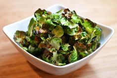 If you're a closet snacker like me, you'll want to make these chips anytime you buy Brussels sprouts.