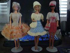 Ladyfingers - Barbie - Blouse & Checkered Full Skirt
