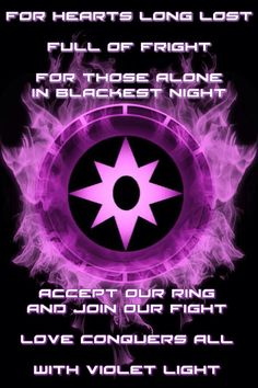Firey Star Sapphire / Violet Lantern Corps Chamber and oath by KalEl7 on DeviantArt
