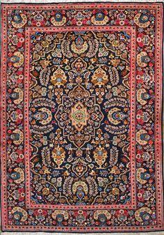 """Esfahan Persian Rug, Buy Handmade Esfahan Persian Rug 8' 4"""" x 11' 10"""", Authentic Persian Rug"""