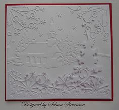 Winter Village by Selma - Cards and Paper Crafts at Splitcoaststampers