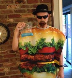 Heisenburger | 26 Hilariously Clever Halloween Costumes