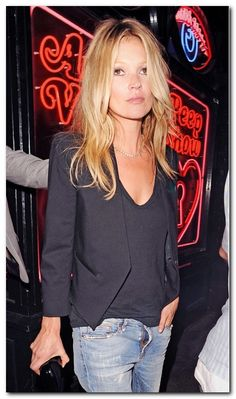 Most Memorable Kate Moss Hairstyles