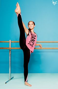 Go ahead! Stretch the limits in our dance and gymnastics collection.