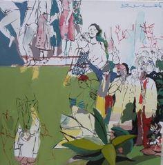 """Golnaz Afraz; Painting, """"RDV"""" #art"""
