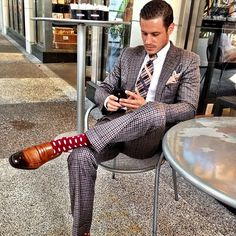 DAILYSTYLEBATTLE The masterful mix of pattern, the flourish of a pocket square, and the debonair hair are sublime: The International Best-Dressed Challenge   Vanity Fair