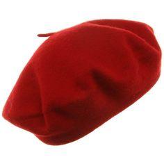 girl lady pop women Serratula of warm bud knitted beret wool cap hat ($3.15) ❤ liked on Polyvore featuring accessories, hats, red, red wool cap, wool beret hat, red beret hat, red wool hat and wool cap