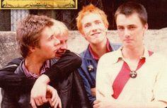 Sex Pistols - August 1975 - First rehearsal, London. Photo © John Gray.