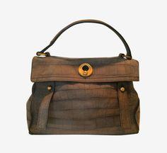 Yves Saint Laurent Gray Handbag