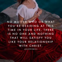 When you have God you have everything that you need. He alone can satisfy you in a way that nothing in this world can. Bible Verses Quotes, Faith Quotes, Scriptures, Lds Quotes, Scripture Verses, Christian Life, Christian Quotes, Christian Living, Just Keep Walking