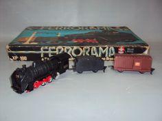 Brinquedo Antigo, Ferrorama Xp 100 Da Estrela Completo. - R$ 250,00 no MercadoLivre