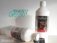 Wat is Gesso? Alles wat je moet weten over Gesso. Met duidelijke uitleg en tips en tricks. Het helpt je op weg voor een goed resultaat.