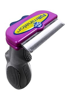 The FURminator removes undercoat and loose hair without sacrificing healthy top coat. The stainless steel edge of the Deshedding Tool doesn't cut hair; it just gently pulls out the fluffy undercoat,The Short Hair FURminator for Large Cats Dog Grooming Tools, Cat Grooming, Pet Shed, Long Haired Cats, Small Cat, Cat Supplies, Loose Hairstyles, Scottish Fold, Maine Coon