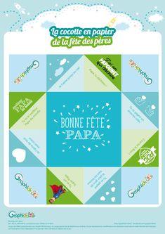 L'activité du mercredi : la cocotte en papier fête des pères https://graphick-kids.fr/lactivite-mercredi-cocotte-papier-fete-peres/