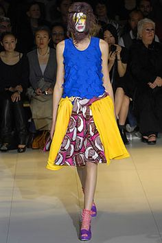 I have this tank top. Spring 2008 Ready-to-Wear. Comme des Garçons - Runway
