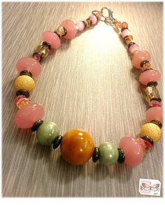 Only $20!  Glass choker....beautiful for mom on Mother's Day!